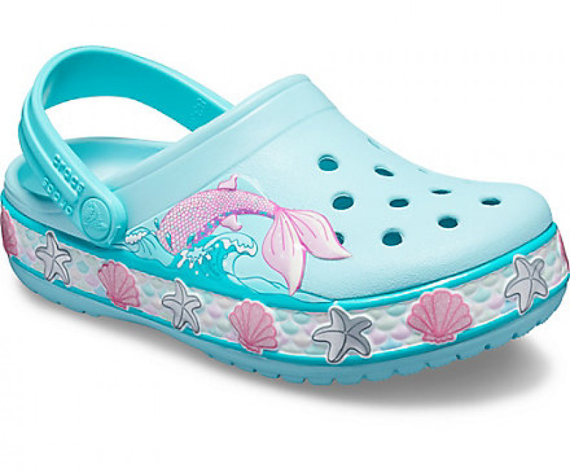 Kids' Crocs Fun Lab Mermaid Band Clog
