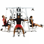 Body Solid – Clubline 3 Stack Commercial Gym