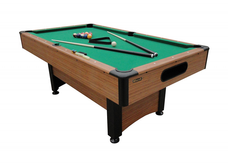 Mizerak P1253W 78-Inch Billiard Table