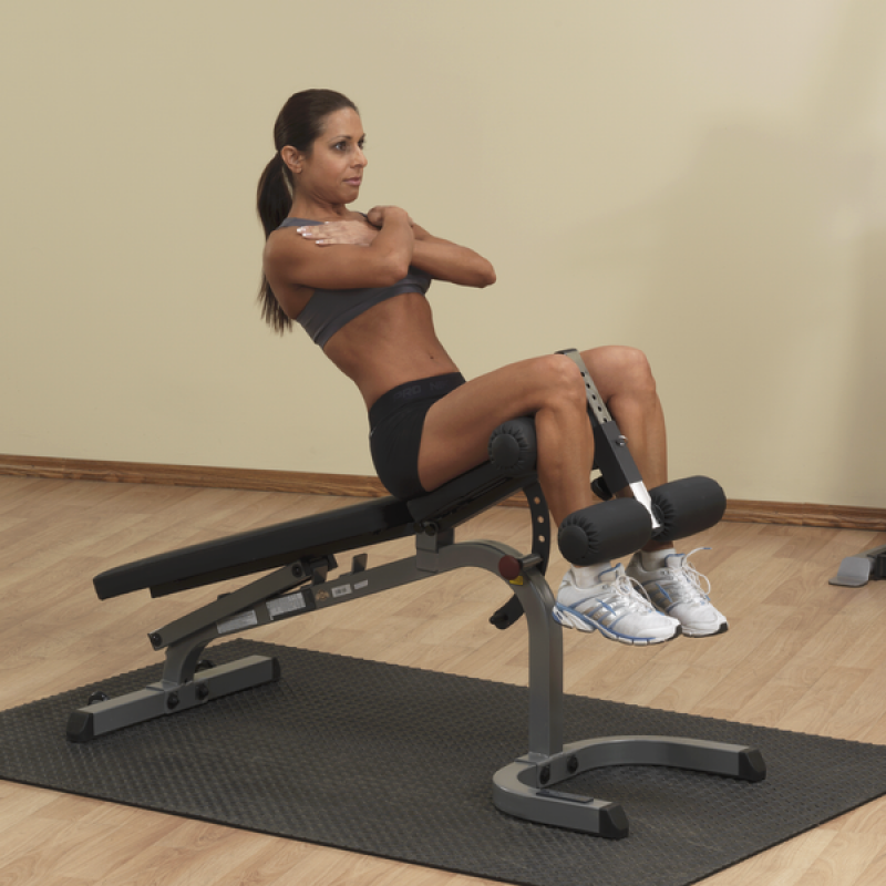 BODY SOLID – FLAT INCLINE/DECLINE BENCH