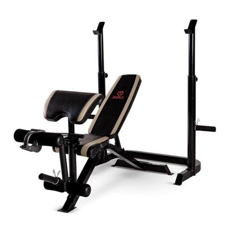 Marcy Two-Piece Olympic Bench | MD-879