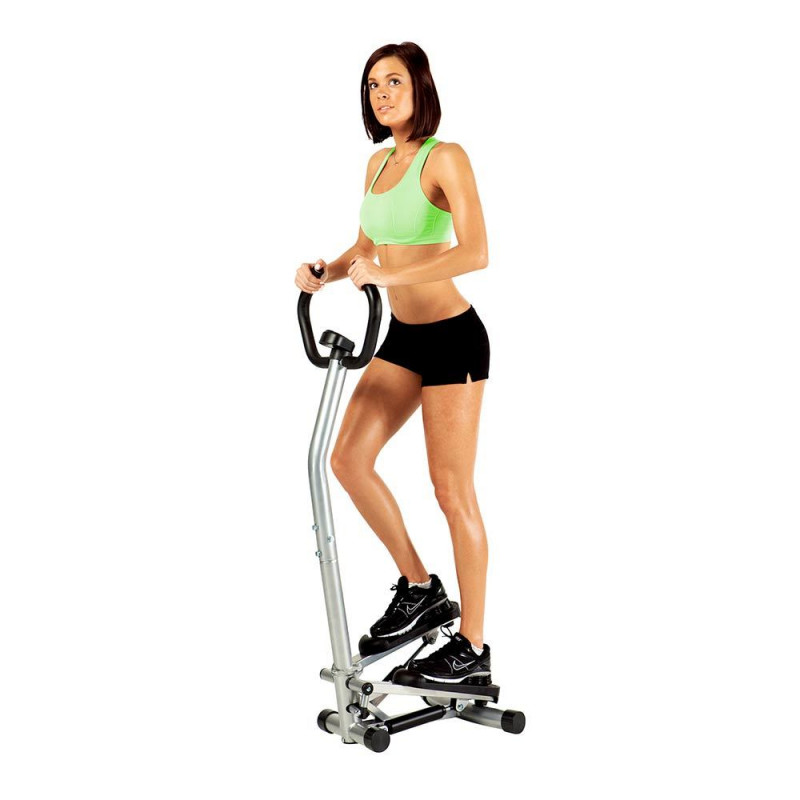Marcy Mini Stepper with Assist Handles and Display