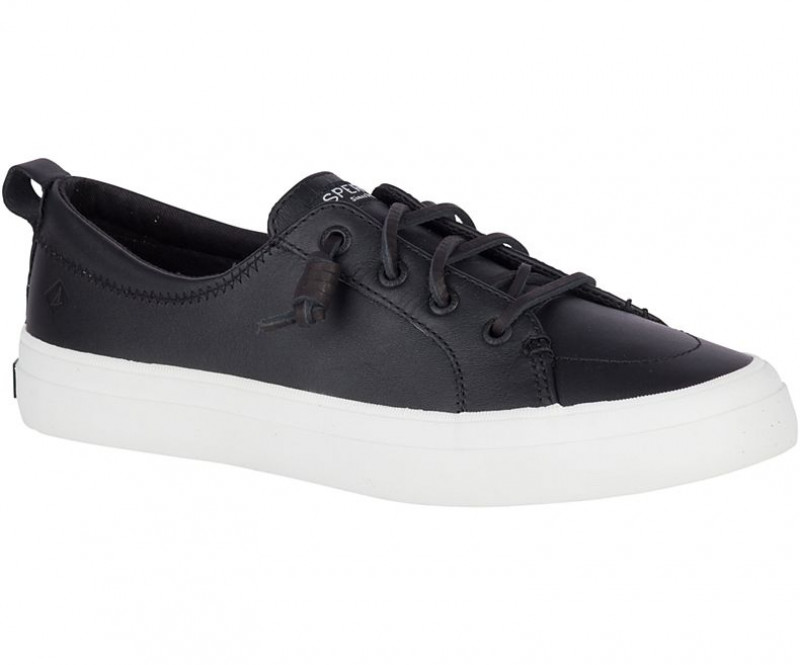Women's Crest Vibe Leather Sneaker