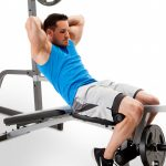 Marcy Pro Deluxe Cage System with Weight Lifting Bench | PM-5108