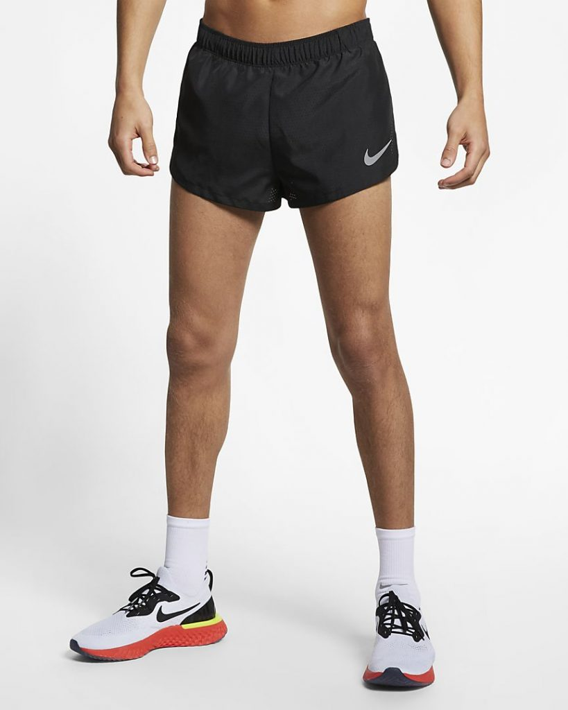 "Nike Mens 2"" Lined Running Shorts"