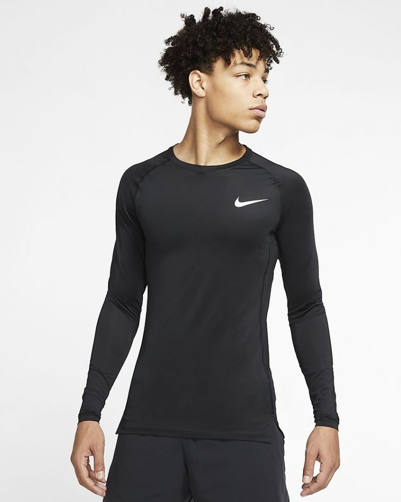 Nike Pro Men's Fitted Long-Sleeve Top