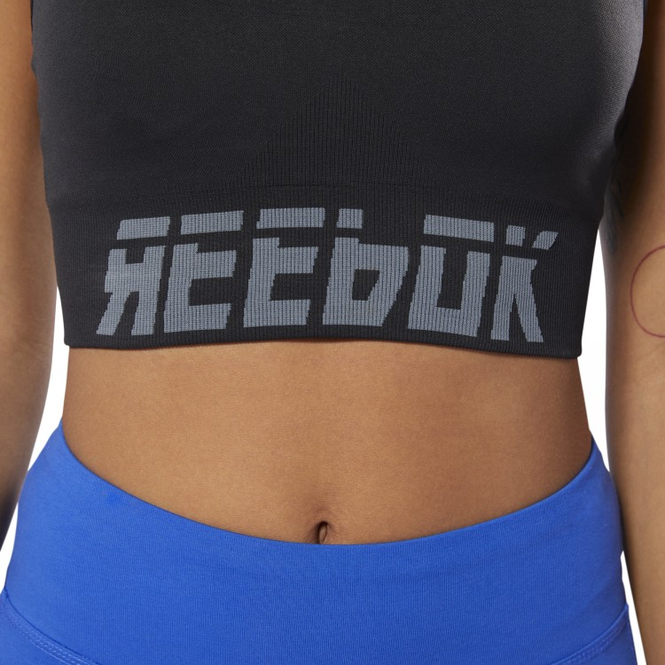 Meet You There Seamless Padded Womens Sports Bra