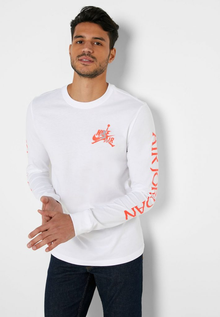 Jordan Mashup Classics Long-Sleeve T-Shirt.