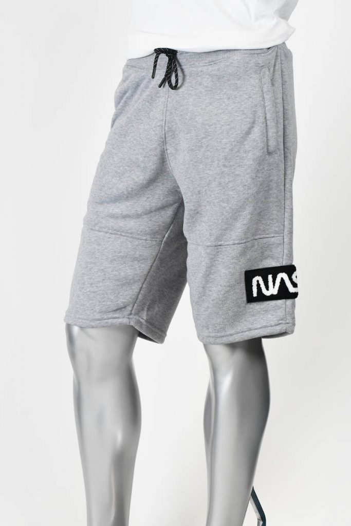 CHEN PATCH FLEECE SHORTS