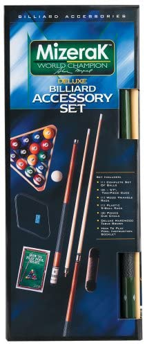 Mizerak P0607 Deluxe Billiard Accessory Kit