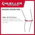 Mueller Jumper's Knee Strap, Red, One Size Fits Most | Single Strap Knee Brace