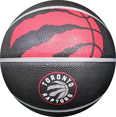 Spalding 71063E NBA Team Courtside Basketball – Toronto Raptors