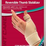 Mueller Reversible Thumb Stabilizer, Beige, One Size Fits Most | Stabilizing Thumb Brace