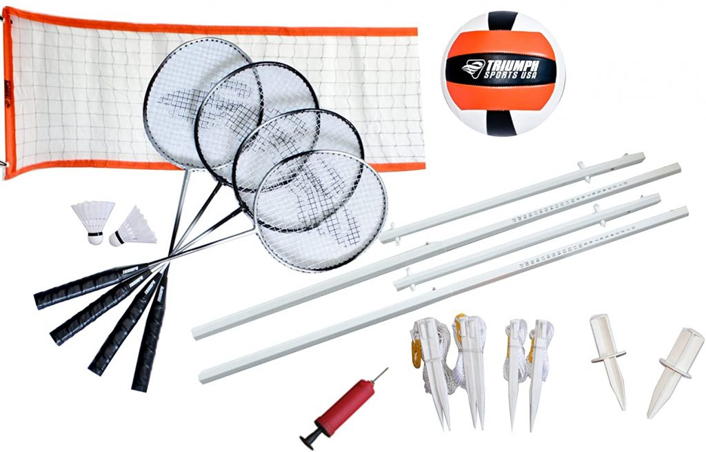 Triumph Volleyball/Badminton Classic Combo Set