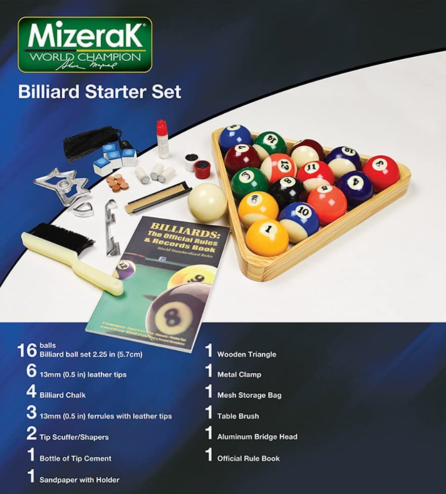 Mizerak P0530 Billiard Starter Set