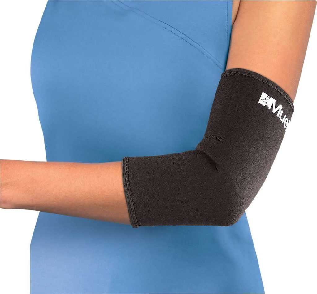 ELBOW SLEEVE NEOPRENE, BLACK