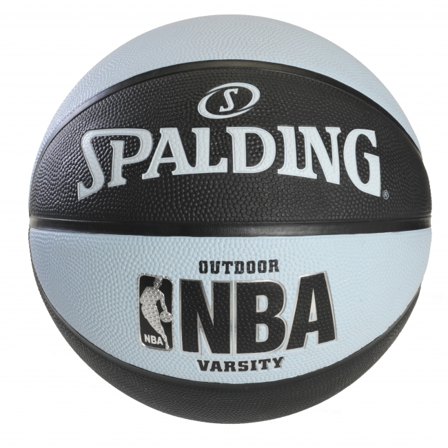 Spalding NBA Varsity Basketball – Black/Lt. Blue – 29.5