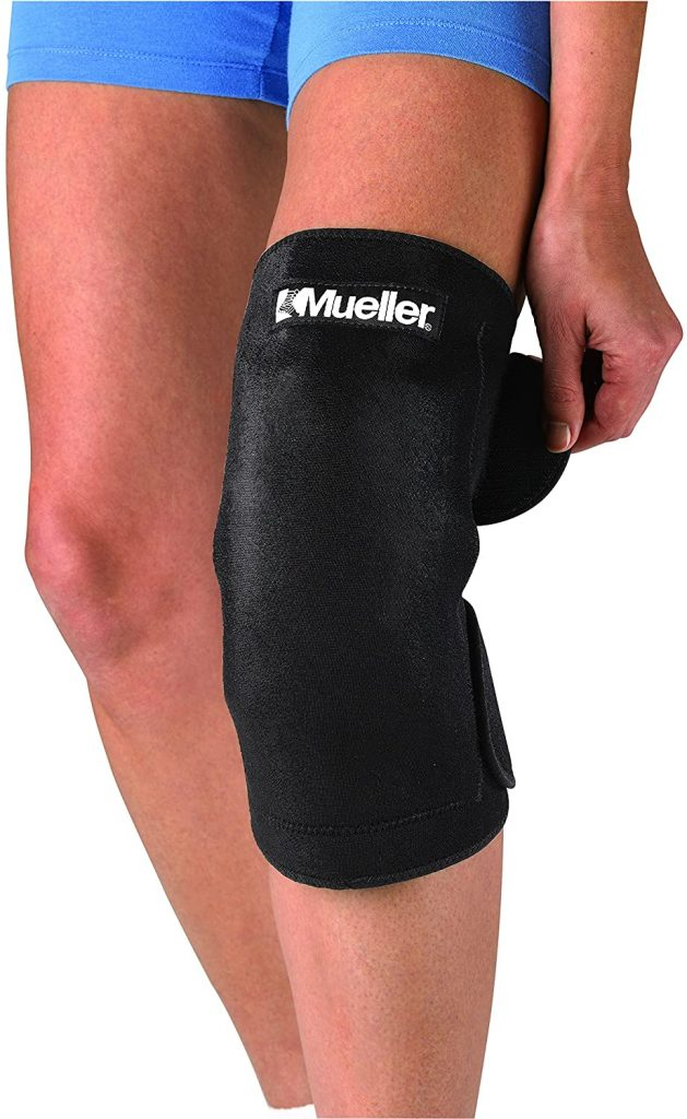 Mueller Cold/Hot Therapy Wrap, Black, Large