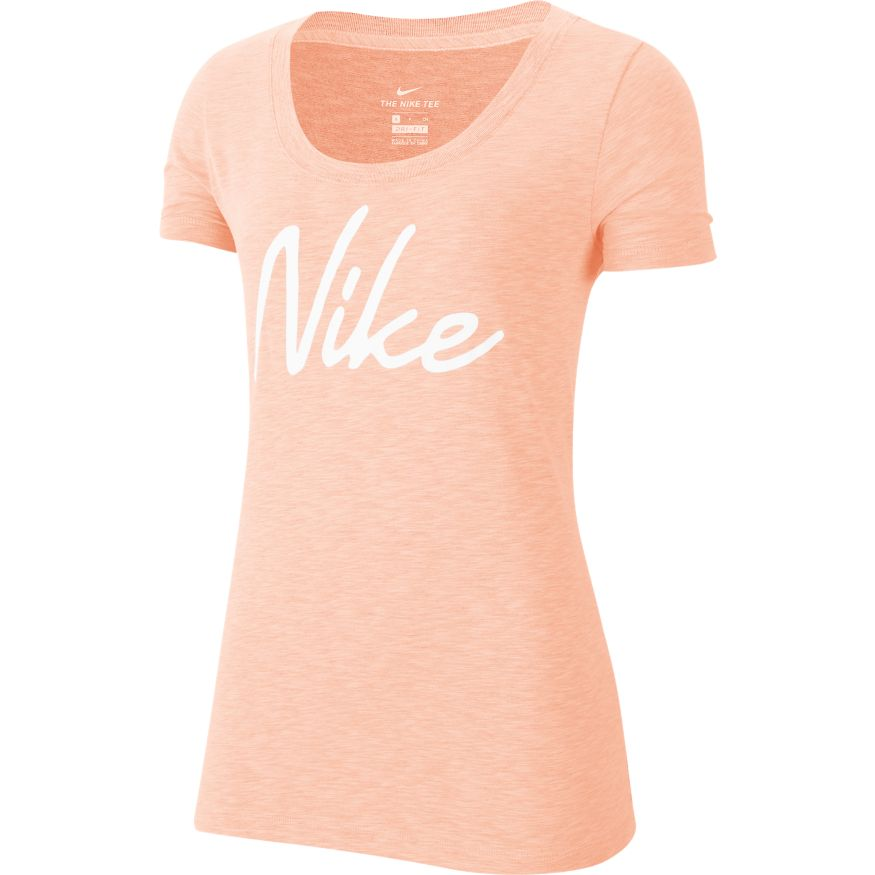 WOMENS NIKE DRI-FIT SCOOP TEE