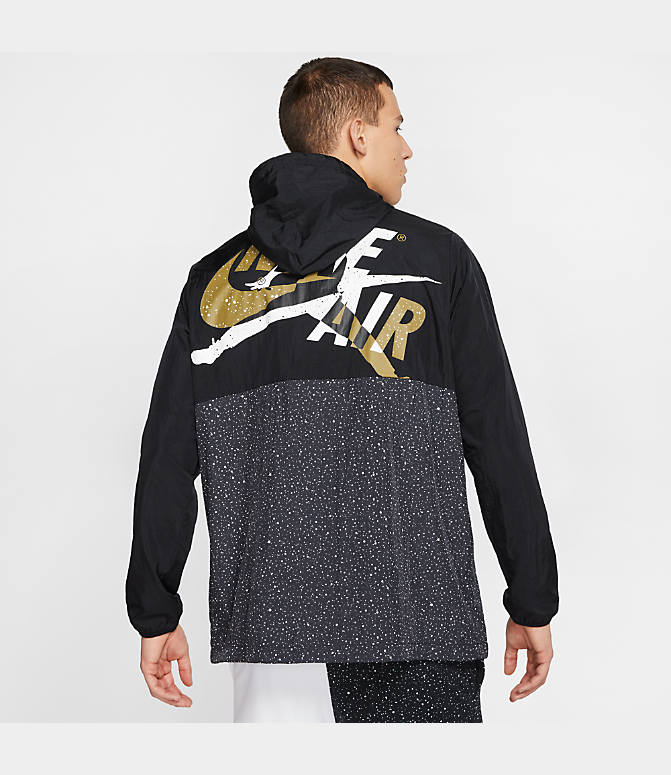 Jordan Mashup Jumpman Classics Windwear Full-Zip Hooded Jacket.