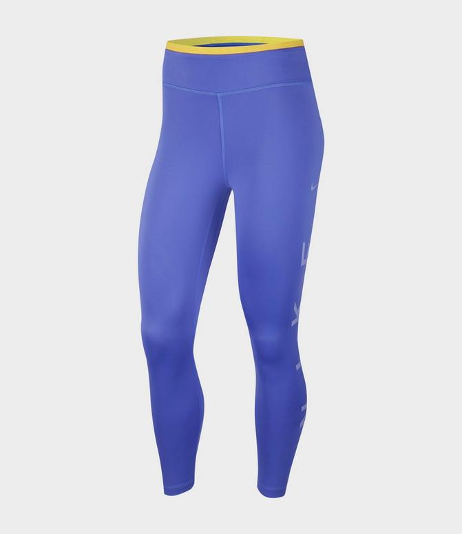 NIKE WOMENS ONE TIGHT ICON CLASH