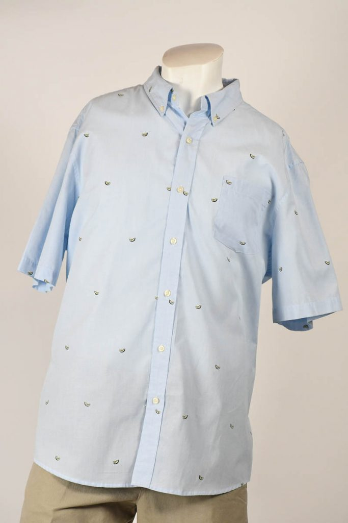 CHAPS S/S FASHION SPORT SHIRT