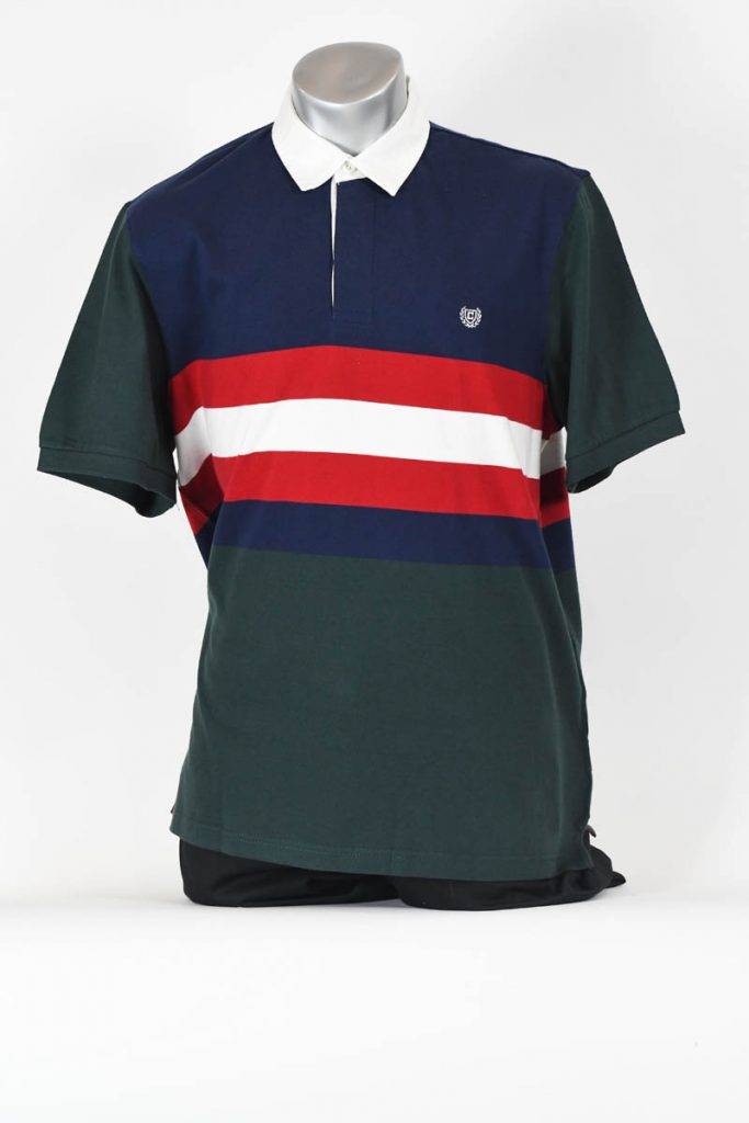 CHEST STRIPE RUGBY POLO