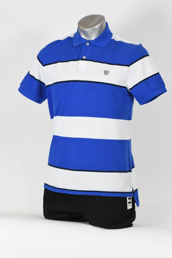 COTTON POLO SHORT SLEEVE KNIT