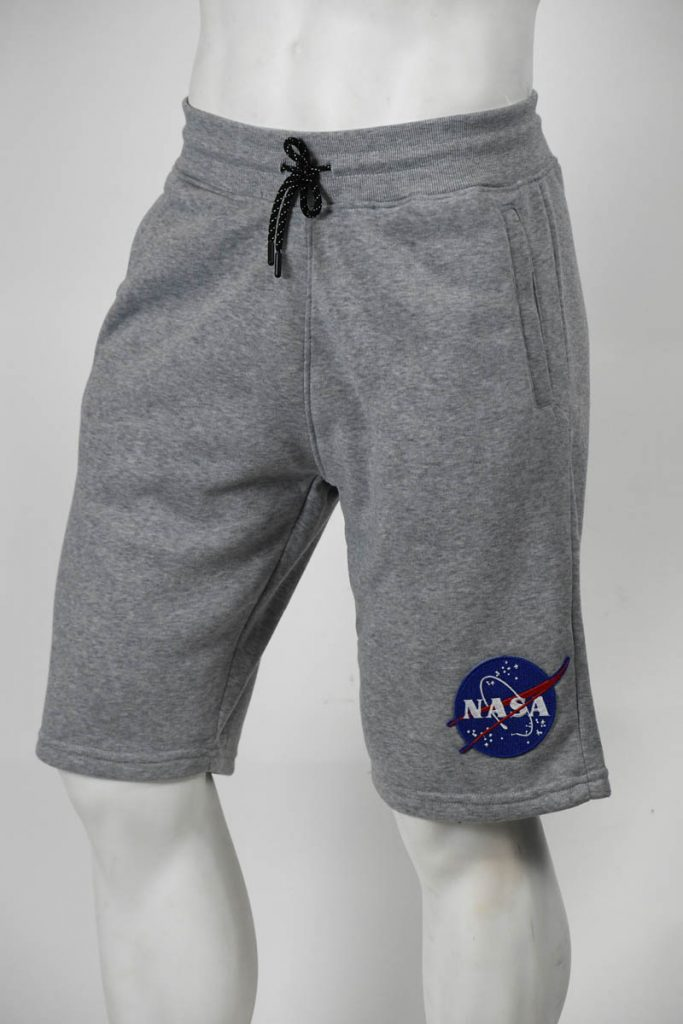 NASA PATCH FLEECE SHORTS