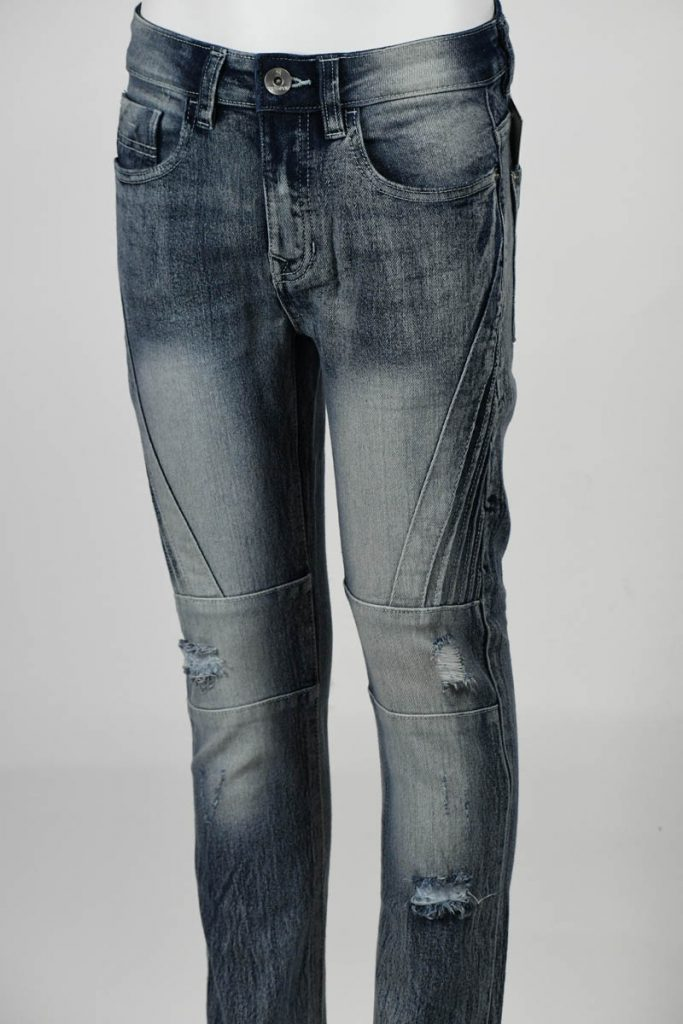 SPB BIKER DENIM PANTS