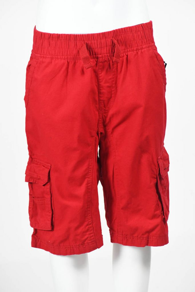 SPB CARGO JOGGER SHORTS SIZE (8-20) RED