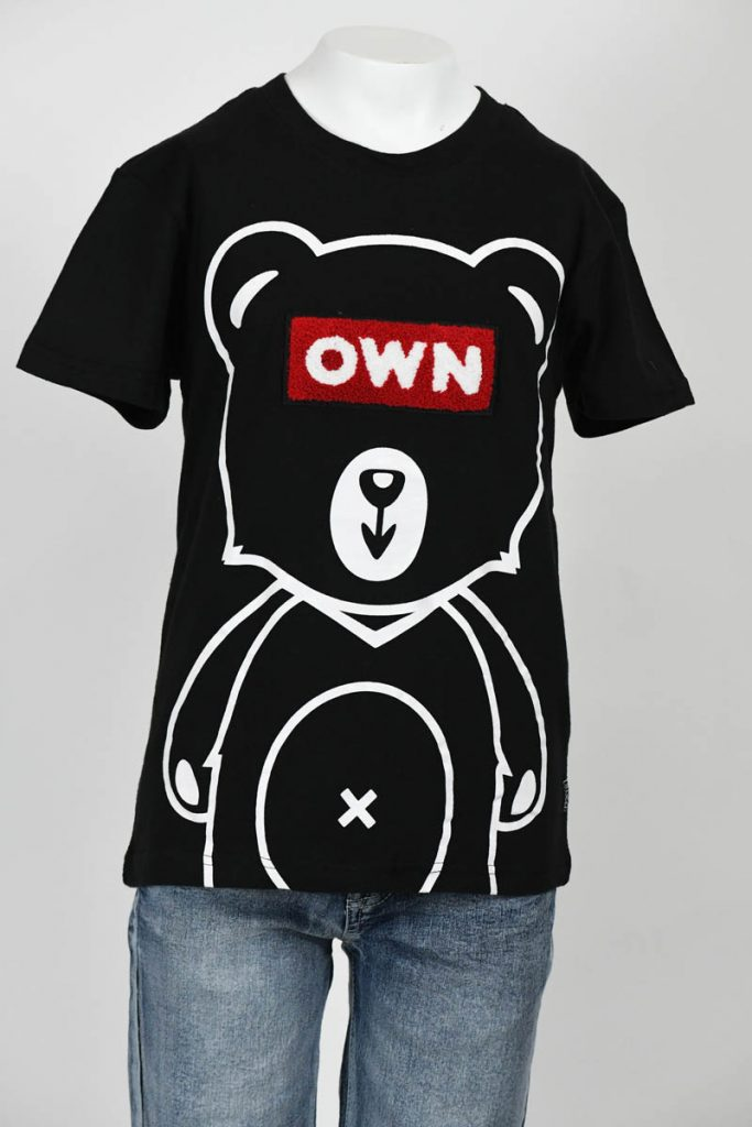 SPB Own Chenille Patch Bear Tee