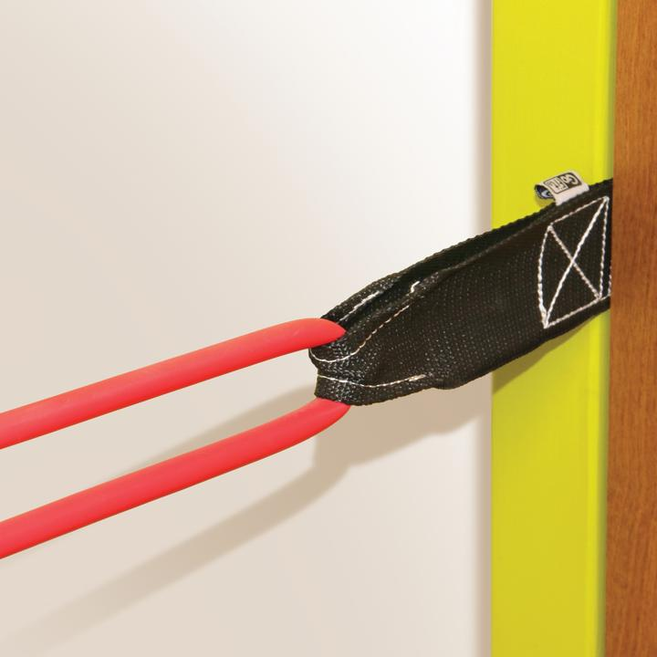 Door Anchor for Tubes and Resistance Bands