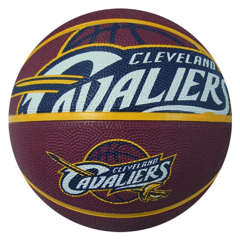 Spalding NBA Cleveland Cavaliers Full-Sized Court Side Basketball, 29.5