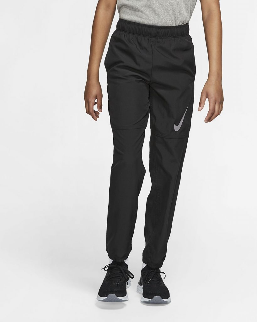 Nike Boys' Woven Training Pants.