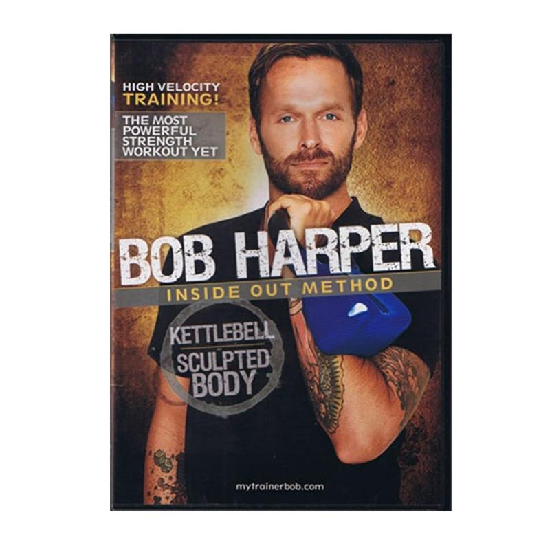 Bob Harper Inside Out Method DVD: Kettlebell Sculpted Body