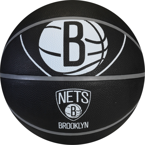 Spalding SP-73742 NBA Brooklyn Nets 29.5″ Outdoor Rubber Basketball