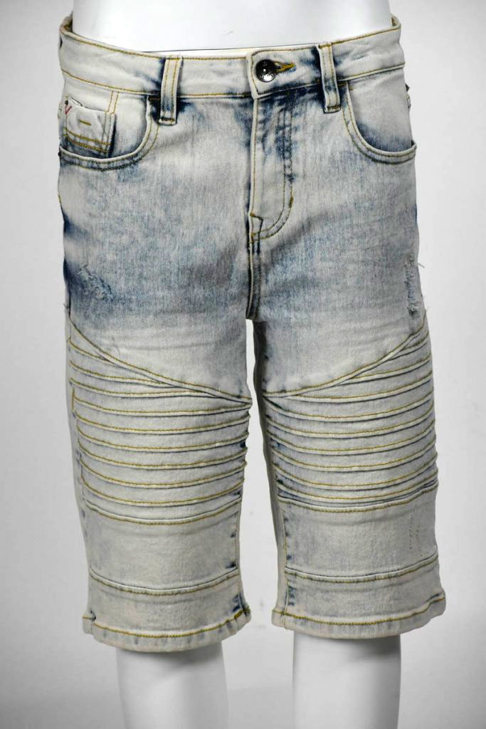SPB BIKER DENIM SHORTS 8-20