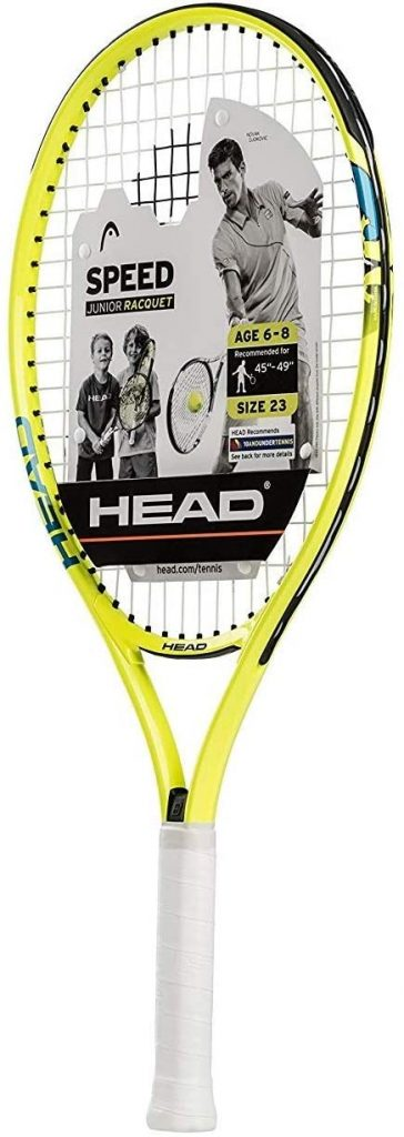 HEAD Speed Kids Tennis Racquet – Beginners Pre-Strung Head Light Balance Jr Racket