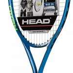 HEAD Speed Kids Tennis Racquet – Beginners Pre-Strung Head Light Balance Jr Racket – 25″, Blue