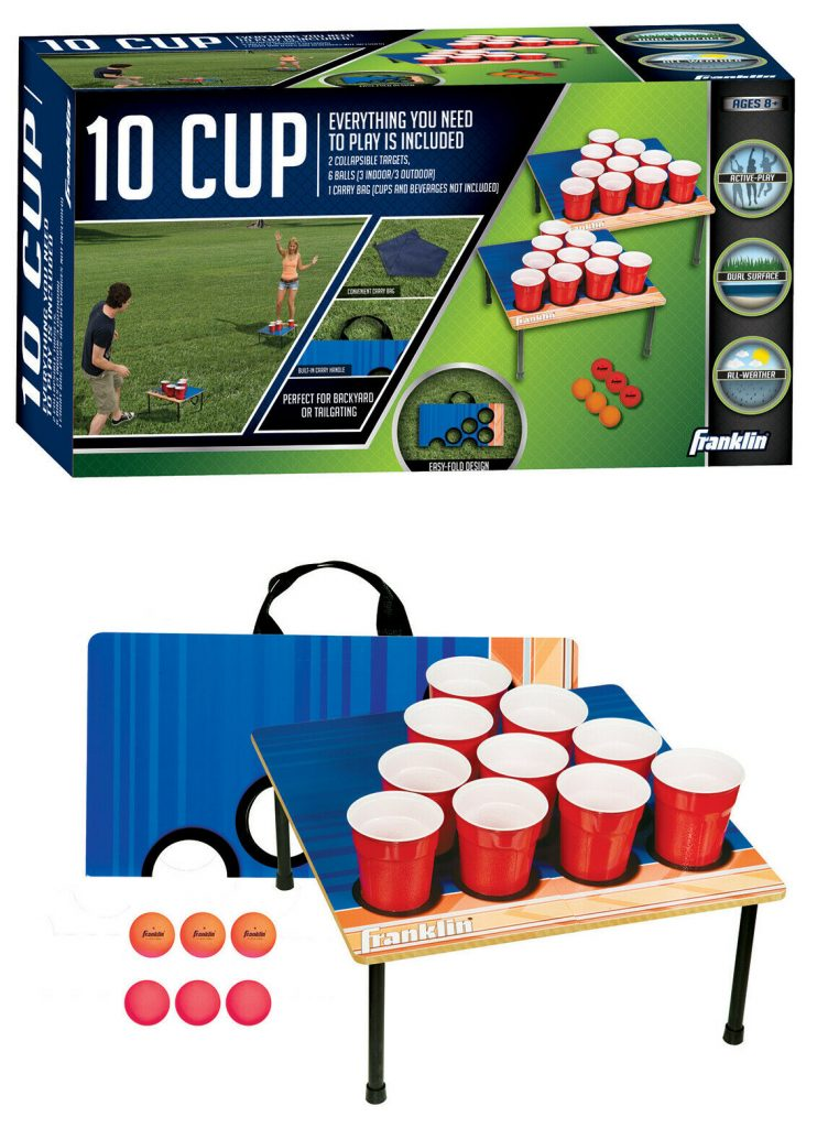 Franklin Sports Fold-N-Go 10 Cup