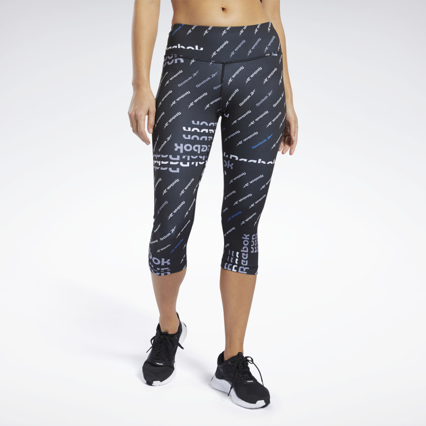 Workout Ready Allover Print Capri Tights