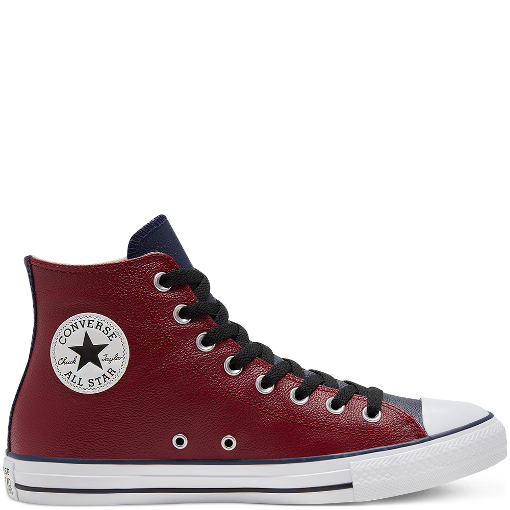 CHUCH TAYLOR UNISEX ALL STAR LEATHER HI TOP