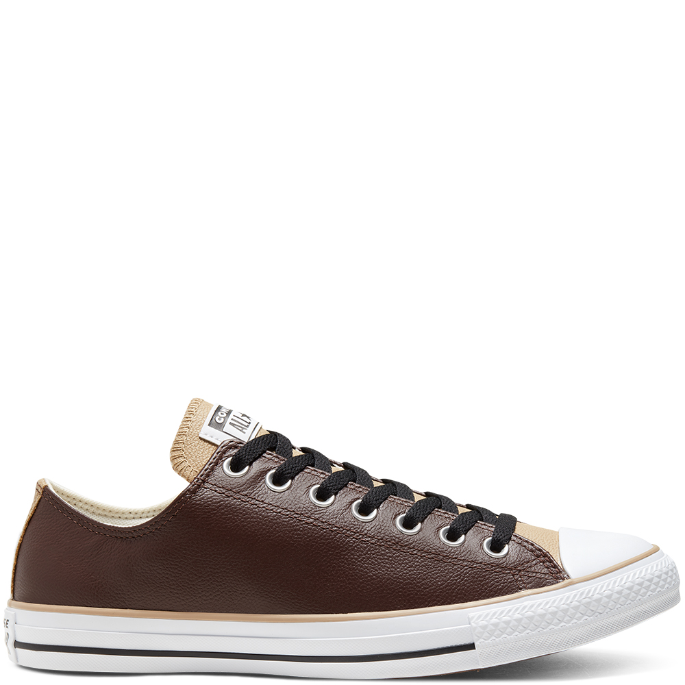 CHUCH TAYLOR UNISEX ALL STAR LEATHER LOW TOP