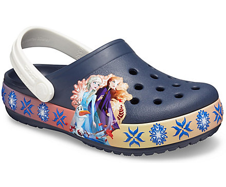 KIDS' CROCS FUN LAB LIGHTS DISNEY FROZEN 2BAND CLOG