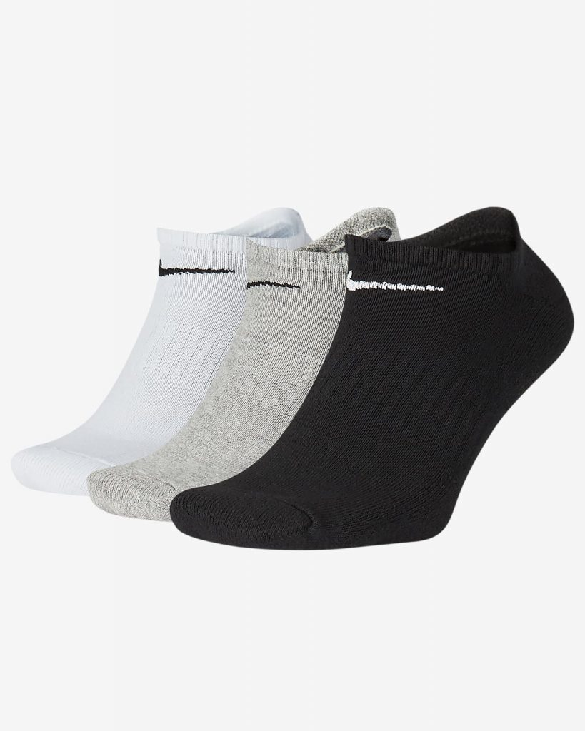 Training No-Show Socks (3 Pairs)