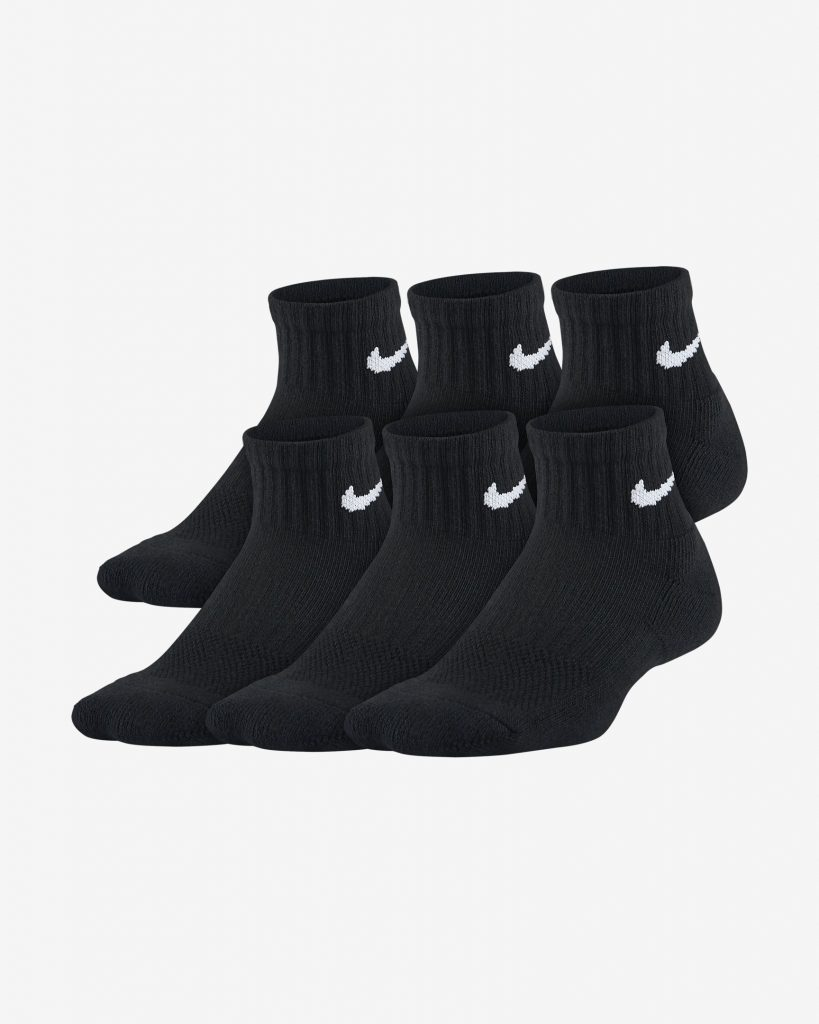 Youth Cushioned Ankle Socks (6 Pairs)