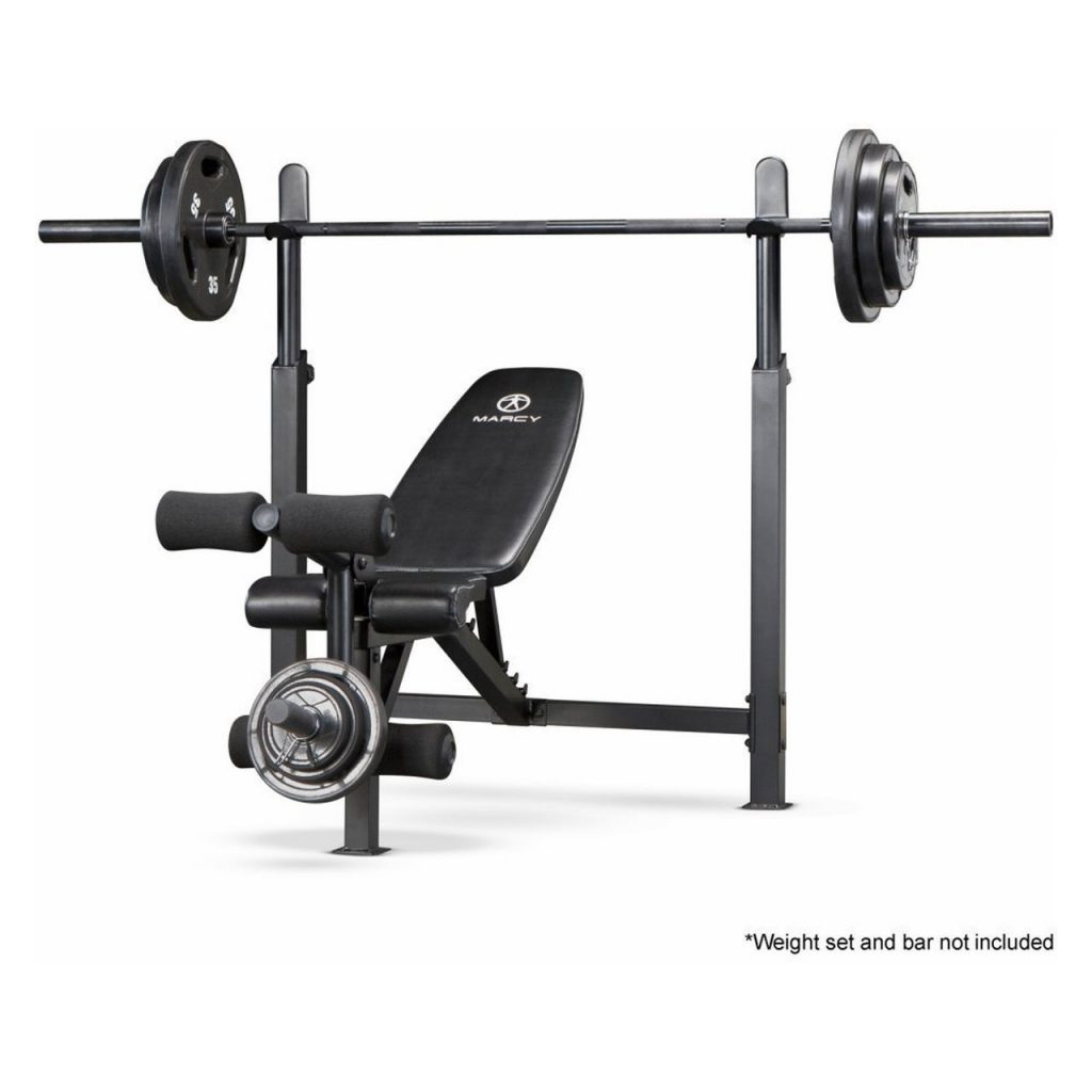 Marcy Olympic Bench with Rack | MWB-732