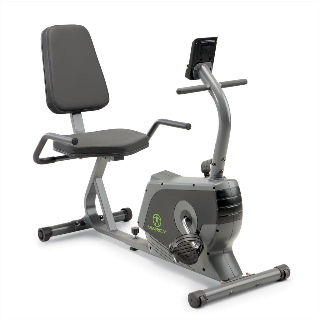 Marcy Recumbent Exercise Bike Adjustable Magnetic Resistance