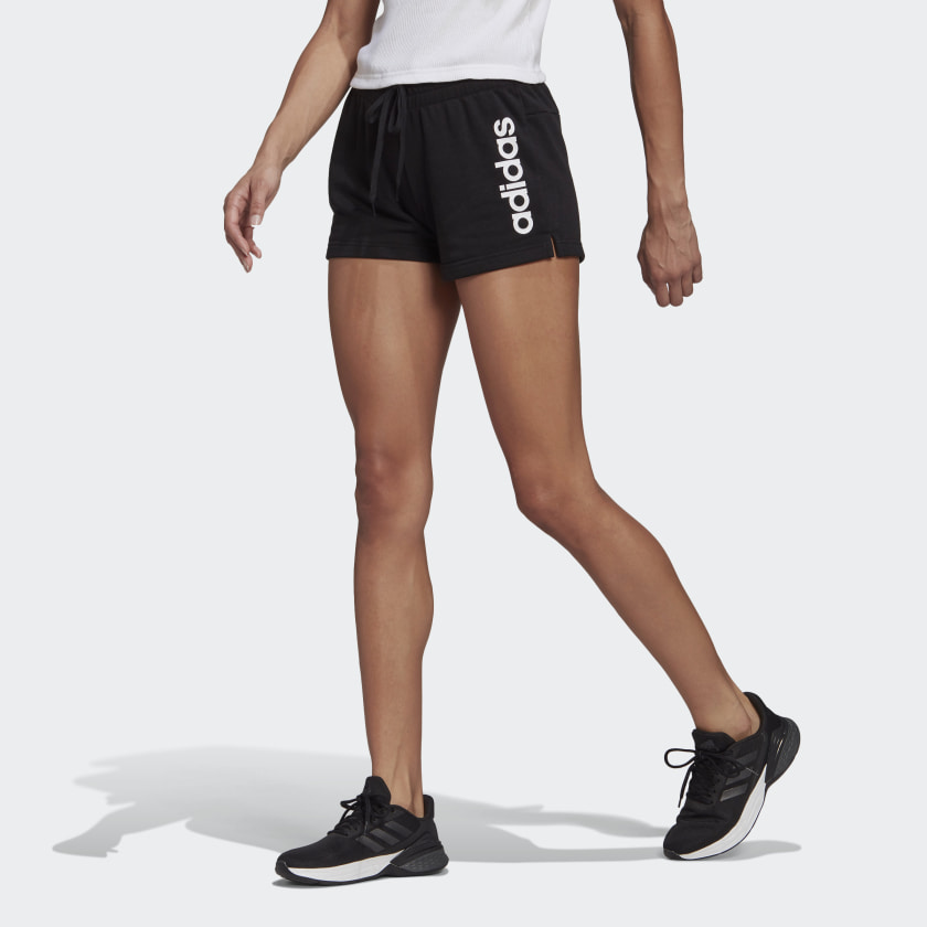 ESSENTIALS SLIM LOGO SHORTS